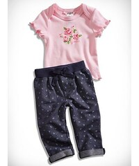 GUESS Kids set Screen-Print Tee and Floral Pants