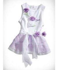 GUESS Kids šaty Flower Tulle