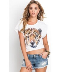 GUESS top Cheetah Slash