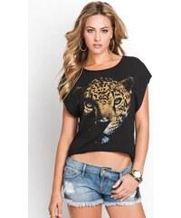 GUESS top Cheetah Slash