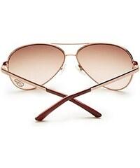 Guess sluneční brýle Kylie Aviator