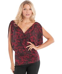 GUESS top Jacquline Lace-Printed