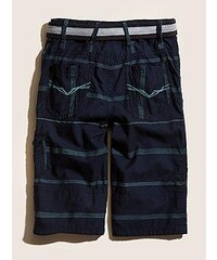 GUESS KIDS kraťasy Burke Stripe With Belt