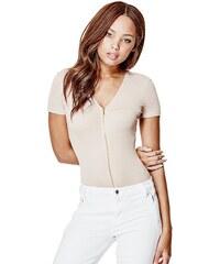Guess body Joany Short-Sleeve Zip-Up