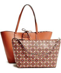 Guess kabelky Bobbi Printed Inside-Out Tote
