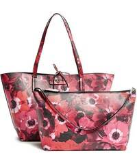Guess kabelky Bobbi Floral-Print Inside-Out Tote