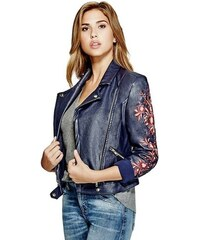 Guess bunda Marvi Embroidered Moto