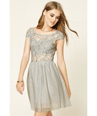 Forever 21 šaty Sequined Tulle