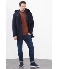 Esprit Manteau en laine mélangée, à doublure