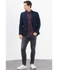 Esprit Chemise à carreaux en flanelle en coton