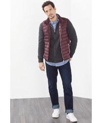 Esprit Cardigan zippé en coton et cachemire