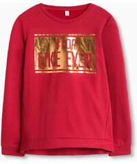 Esprit Sweater en coton mélangé à imprimé