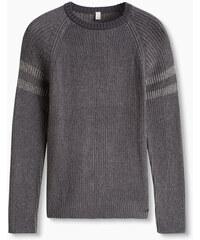 Esprit Žebrový svetr z měkké bavlněné směsi