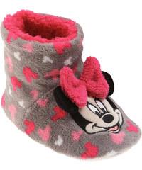 Disney Minnie Hausschuhe grau in Größe 30 für Mädchen