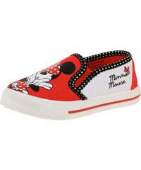 Disney Minnie Sneaker rot in Größe 25 für Mädchen aus 100% Polyester