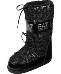 EA7 Emporio Armani Moon-Boots mit Glitter-Effekt