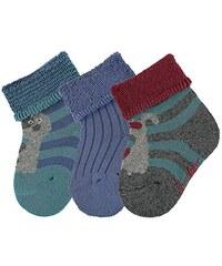 Sterntaler Baby-Jungen Socken Söckchen 3er-Pack Hund