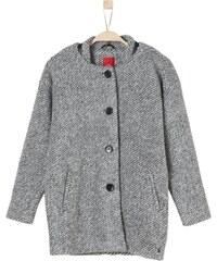 s.Oliver Wollmantel / klassischer Mantel grey tweed