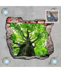 Lesara Sticker mural 3D pour la plafond motif arbre