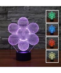 Lunio Color Lampe LED illusion 3D forme abstraite