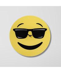 Lesara Wanduhr Emoji - Cool