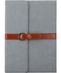 Lesara Schutzhülle im Retro-Look für Apple iPad - Grau - iPad mini 1-3