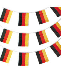 Lesara 3er-Set Girlande Deutschland-Flagge