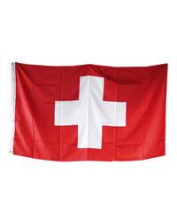 Lesara XXL-Flagge Schweiz