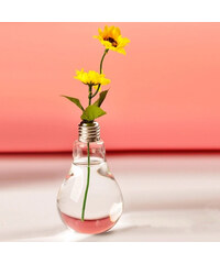 Lesara Vase im Glühbirnen-Design