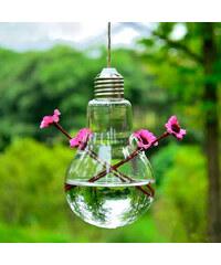 Lesara Glühbirnen-Deko-Vase zum Aufhängen - Zwei Öffnungen