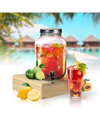 Lesara Getränkespender aus Glas