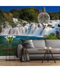 Lesara Fototapete Wasserfall