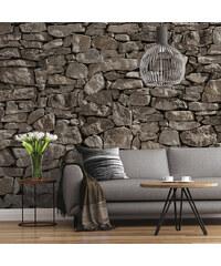 Lesara Fototapete Steinmauer
