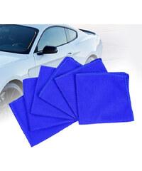 Lesara 6er-Set Mikrofaser-Reinigungstuch für Autos