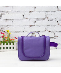 Lesara Kulturtasche mit Tragelasche - Violett