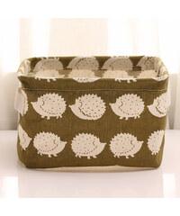 Lesara Organizer-Box mit Tier-Muster - Igel