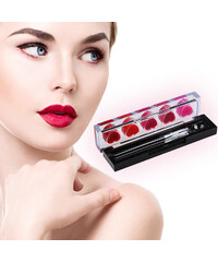 Lesara 6-teiliges Lipgloss-Set im Herzdesign