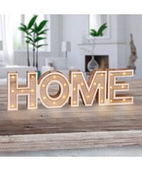 Lesara LED-Dekoration Schriftzug - Home