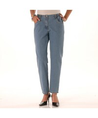 Blancheporte Pohodlné džíny, menší postava sepr.modrá 34/36
