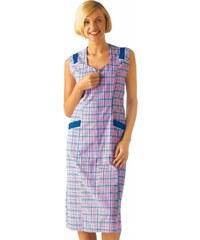 Blancheporte Kostkovaná zástěra růžová/modrá 50