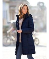 Blancheporte Dlouhá prošívaná bunda, délka cca 95 cm námořnická modrá 38