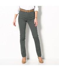 Blancheporte Jednobarevné kalhoty bronzová 36