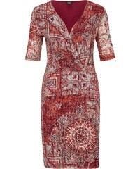 S.Oliver BLACK LABEL Cache Coeur Kleid aus Mesh