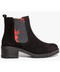 Desigual Dámské kotníkové boty Yolanda Charly Negro 67AS6B8 2000