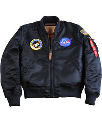 Alpha Industries Ma-1 Fv Nasa W veste rep blue