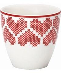 Green Gate Mini latte cup December red