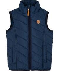 G-mini Chlapecká prošívaná vesta Umberto - tmavě modrá