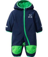 bpc bonprix collection Combinaison bébé Softshell bleu manches longues enfant - bonprix