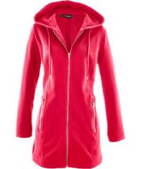 bpc bonprix collection Gilet sweat long rouge manches longues femme - bonprix
