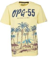 Original Penguin Junior Palm Springs T-Shirt Lemon Drop